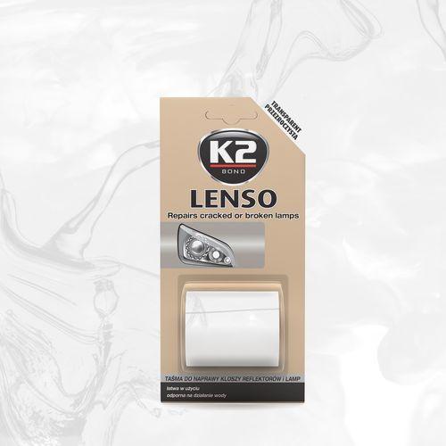 K2 Lenso przeźroczyste - taśma do napraw reflektorów b340 (5906534008466)