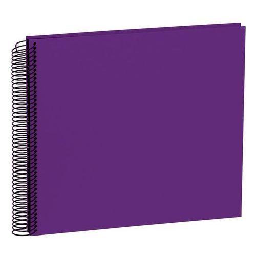 Semikolon Album na zdjęcia uni economy czarne karty średni fioletowy