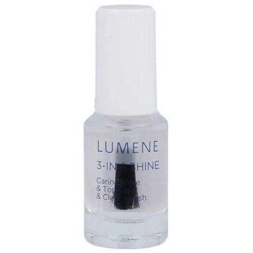 gloss & care 3-in-1 shine caring base & top coat 5ml w baza pod lakier marki Lumene