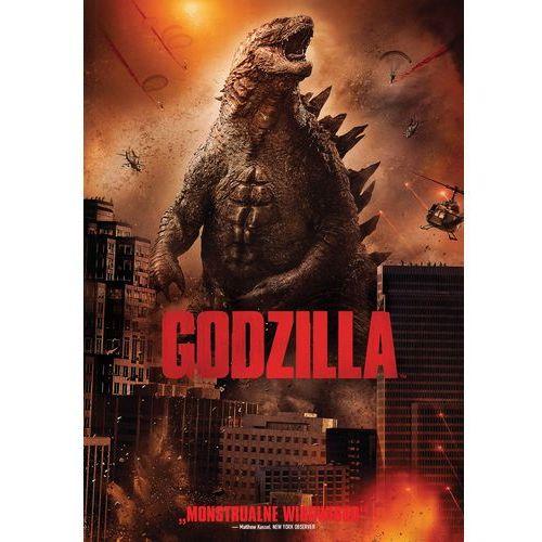 Godzilla (dvd) - gareth edwards darmowa dostawa kiosk ruchu marki Galapagos