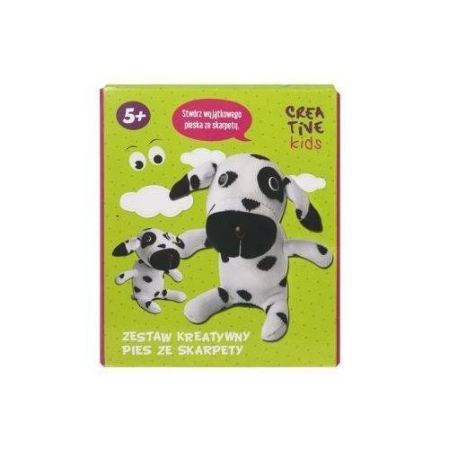 Zestaw kreatywny - Pies ze skarpety 0083/0006 - INCOOD (5908293554093)