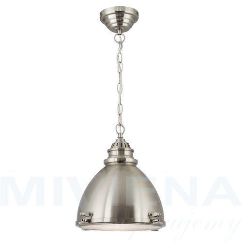 Lampa wisząca 1 stal szkło marki Searchlight