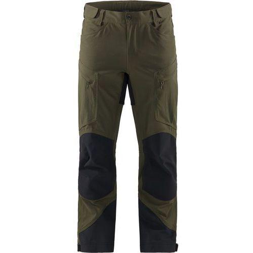 Haglöfs Rugged Mountain Spodnie długie Mężczyźni czarny/oliwkowy S 2018 Spodnie turystyczne (7318841156989)