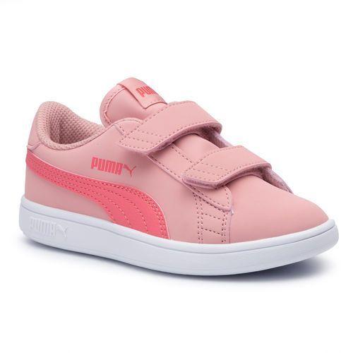 Sneakersy PUMA - Smash V2 Buck V Ps 365183 12 Bridal Rose/Calypso Coral