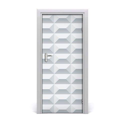 Naklejka samoprzylepna na drzwi Geometryczne tło