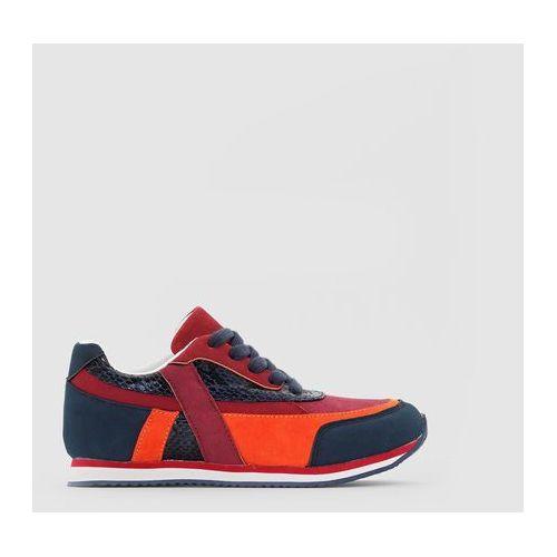 La redoute collections Niskie buty sportowe z efektem wężowej skórki