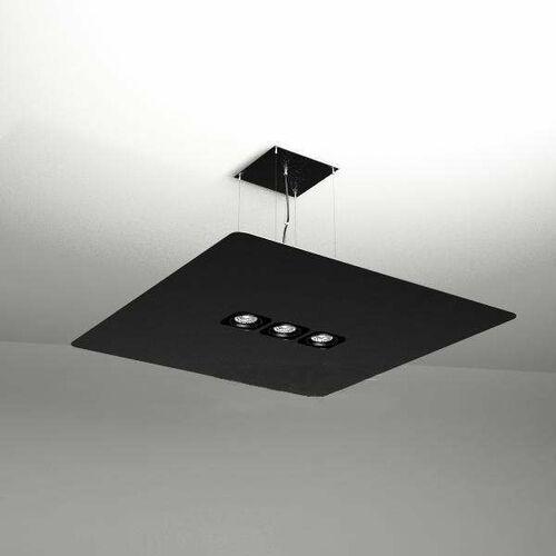 Shilo Żyrandol lampa wisząca tahara 5510 metalowa oprawa zwis prostokątny czarny