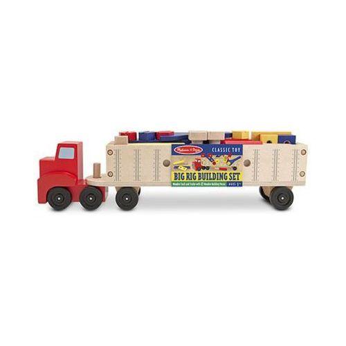 Melissa & doug Duża ciężarówka drewniana z narzędziami 19391 (0000772127585)