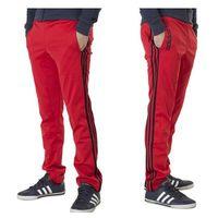 Spodnie Adidas Street Diver TP M30191 - Czerwony
