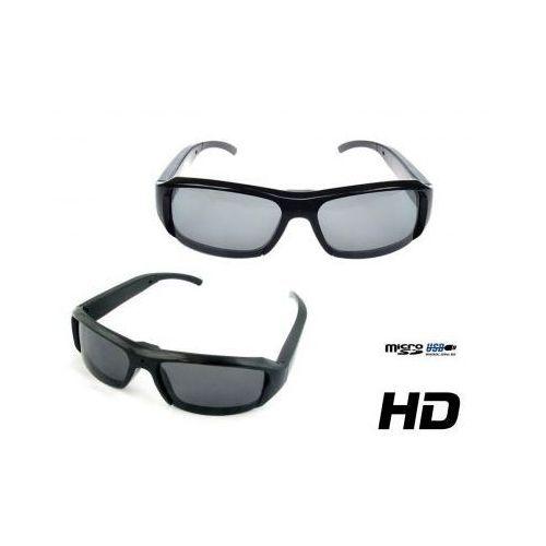 Szpiegowskie Okulary HD (przeciwsłoneczne), Nagrywające Obraz i Dźwięk + Aparat Foto..., 590773415401