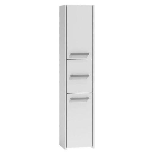 Szafka do łazienki Helta 3X - biała, kolor biały