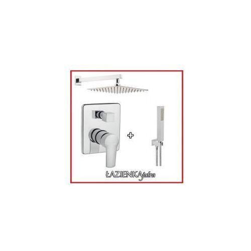 Podtynkowy zestaw prysznicowy z Invena Verso BP-82-0K2, chrom ZEST88