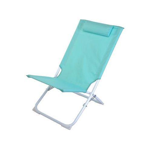 Emako Składane krzesło plażowe pro beach, leżanka ogrodowa