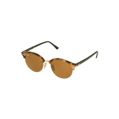 Ray-ban Rayban clubround okulary przeciwsłoneczne brown/light brown