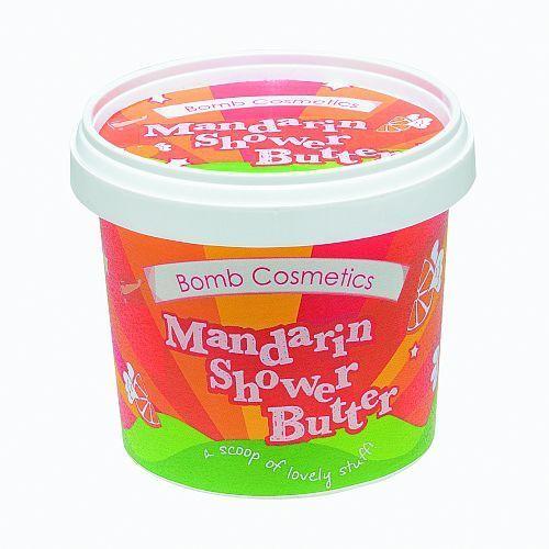 Bomb Cosmetics Mandarin and Orange - myjące masło pod prysznic 365ml (5037028239568)