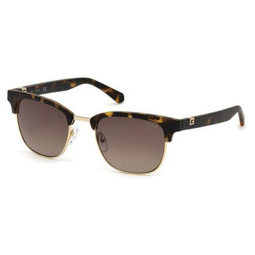 Okulary słoneczne  gu 6895 52f marki Guess