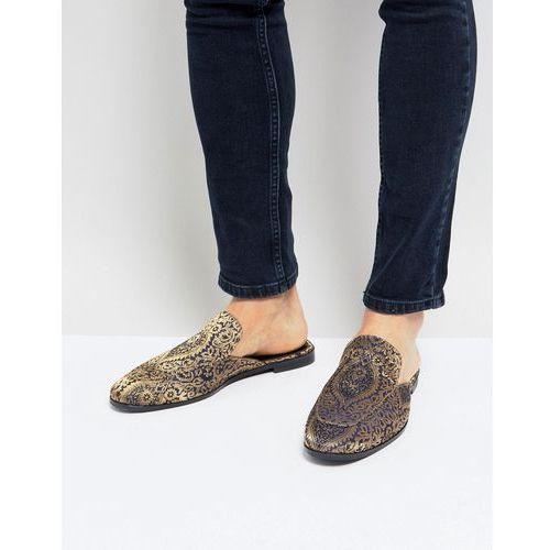 Kg kurt geiger Kg by kurt geiger brocade slip on loafers - black