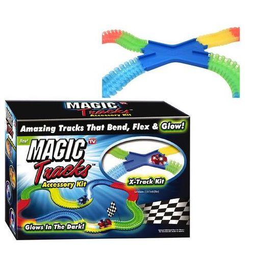 Broszio Magic Tracks X-Track Świecący się tor wyścigowy samochodowy