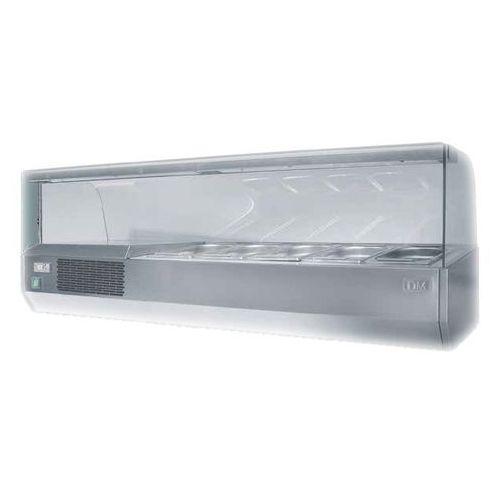 Nadstawa chłodnicza 9xGN1/4, 1925x350x460 mm | DORA METAL, DM-94050.9