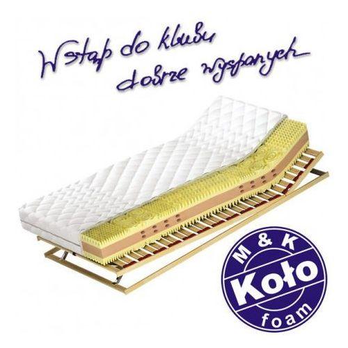 M&k foam koło Materac ameland - m&k koło, rozmiar - 180x200 cm, twardość - h3 - negocjuj ceny