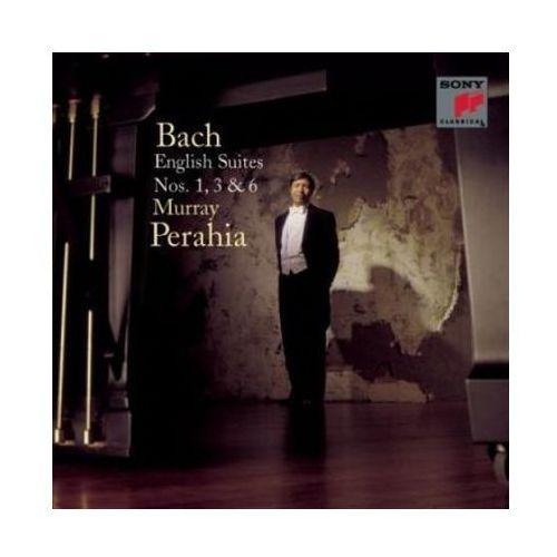 Sony music entertainment Bach: english suites nos. 1, 3 & 6 [reedycja] - murray perahia (5099706027621)