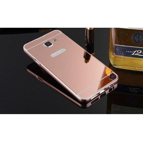 Mirror Bumper Metal Case Różowy | Etui dla Samsung Galaxy A5 2016 - Różowy