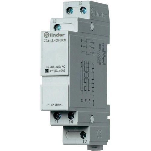 Przekaźnik kontroli napięcia, zaniku, rotacji i niskiej wartości faz 70.61.8.400.0000, 70-61-8-400-0000