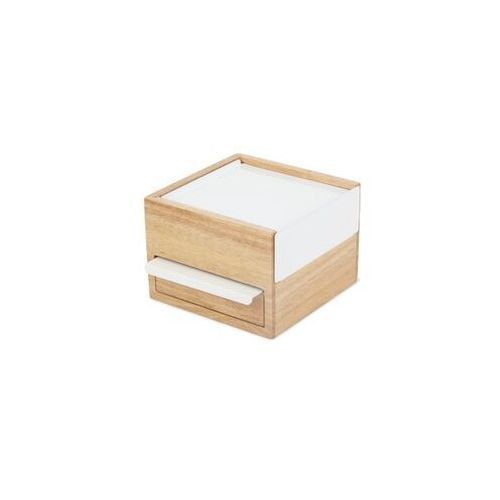 - szkatułka mini, naturalne drewno, stowit marki Umbra