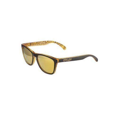 Oakley okulary przeciwsłoneczne 'frogskin' żółty / czarny (0888392334725)