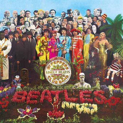 Puzzle 289 elementów The Beatles - Sgt. Pepper`s Lonely Hearts Club Band 1967