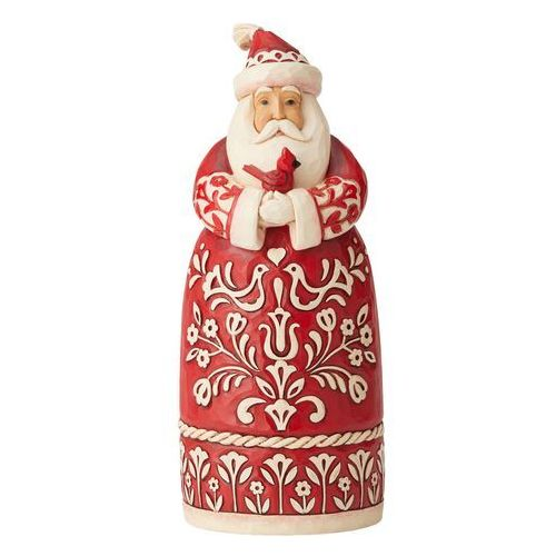 Mikołaj figurka nordyckie życzenia bożonarodzeniowe nordic noel santa figurine 6004227 figurka ozdoba świąteczna marki Jim shore