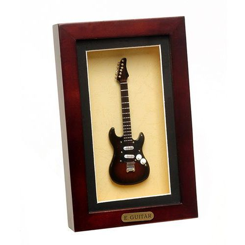 Gitara elektryczna w ramce 22 x 14cm