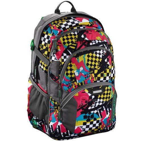 """Coocazoo jobjobber ii plecak szkolny 45 cm / laptop 15,4"""" / checkered bolts - wielokolorowy"""