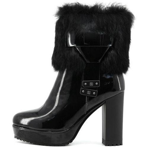 Laura Biagiotti buty za kostkę damskie 37 czarny