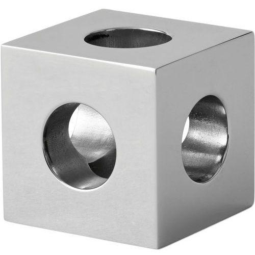 Świecznik cube polerowana stal nierdzewna (4762039) marki Menu