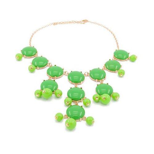 Cloe Naszyjnik kolia green - zielony