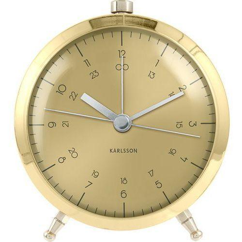 Karlsson Alarm Gold Clock, KA5599GD