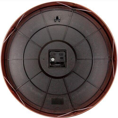 Zegar ścienny 40 cm. essential copper xxl miedziano-czerwony (3258 ro) marki Nextime