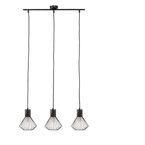 Brilliant Dalma-lampa wisząca 3-punktowa druciana metal Ø30cm | -10% z kodem halo10