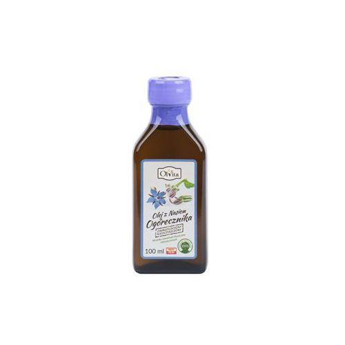 Olej z nasion ogórecznika zimnotłoczony nieoczyszczony 100ml OLVITA, 5907591923587