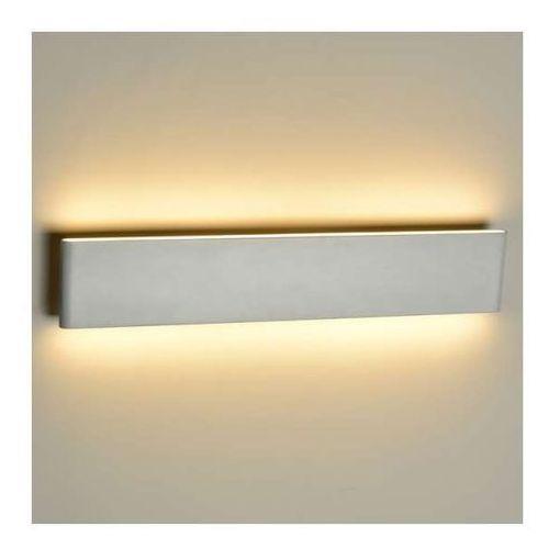 Kinkiet LAMPA ścienna NORMAN MB5932M Azzardo metalowa OPRAWA LED 13W prostokątna biała