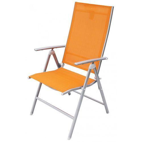 Rojaplast krzesło ogrodowe anf-26c pomarańczowe (606/1) (8595226701999)
