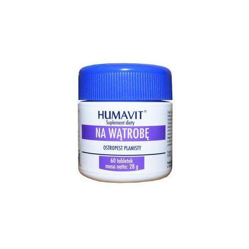 HUMAVIT Ostropest plamisty Na Wątrobę x 60 tabletek