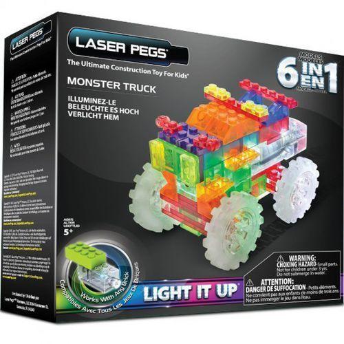 LASER PEGS 6 in 1 Monster Truck