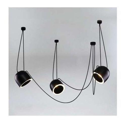 LAMPA wisząca DOBO 9037/E14/CZ/kolor Shilo modernistyczna OPRAWA metalowy zwis, 9037/E14/CZ/kolor