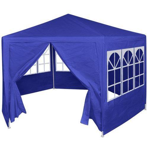 Vidaxl  namiot ogrodowy z 6 panelami bocznymi 2x2 m, niebieski