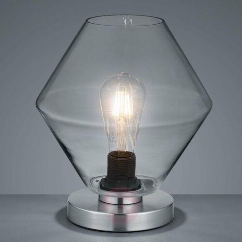 Lampa stołowa Reality TRENTO Nikiel matowy, 1-punktowy - skandynawski - Obszar wewnętrzny - TRENTO - Czas dostawy: od 3-6 dni roboczych (4017807427066)