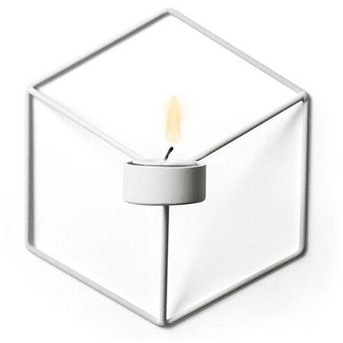 Menu - świecznik wall - biały - biały