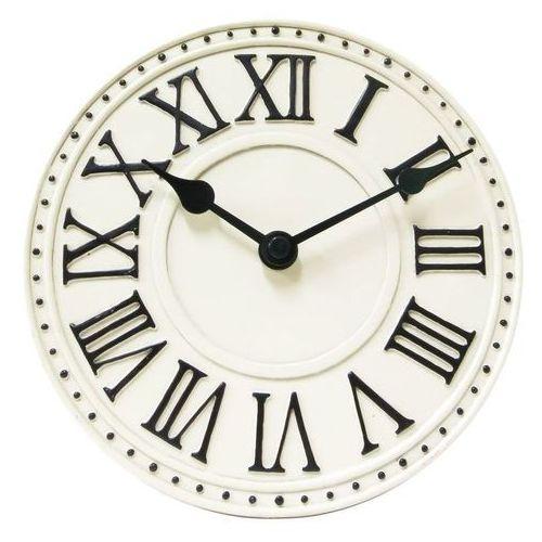 NeXtime - Zegar stojący London Table - biały