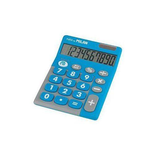 Kalkulator 10 pozycyjny Touch Duo niebieski